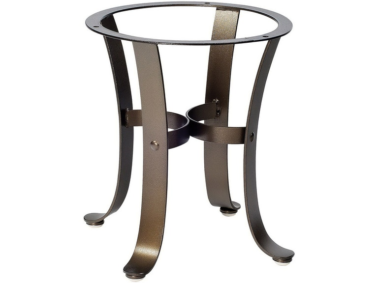 Cascade End Table Base By Woodard 2w3900