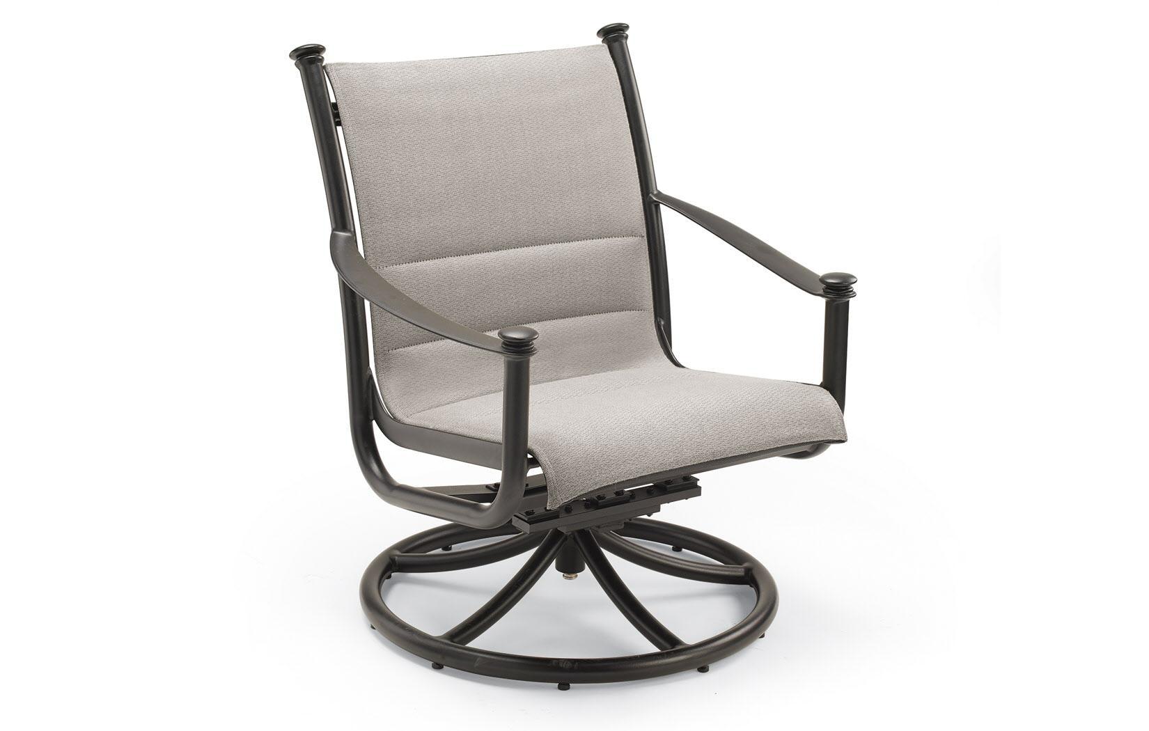 Padded Sling Swivel Tilt Lounge Chair By Winston J5879PS