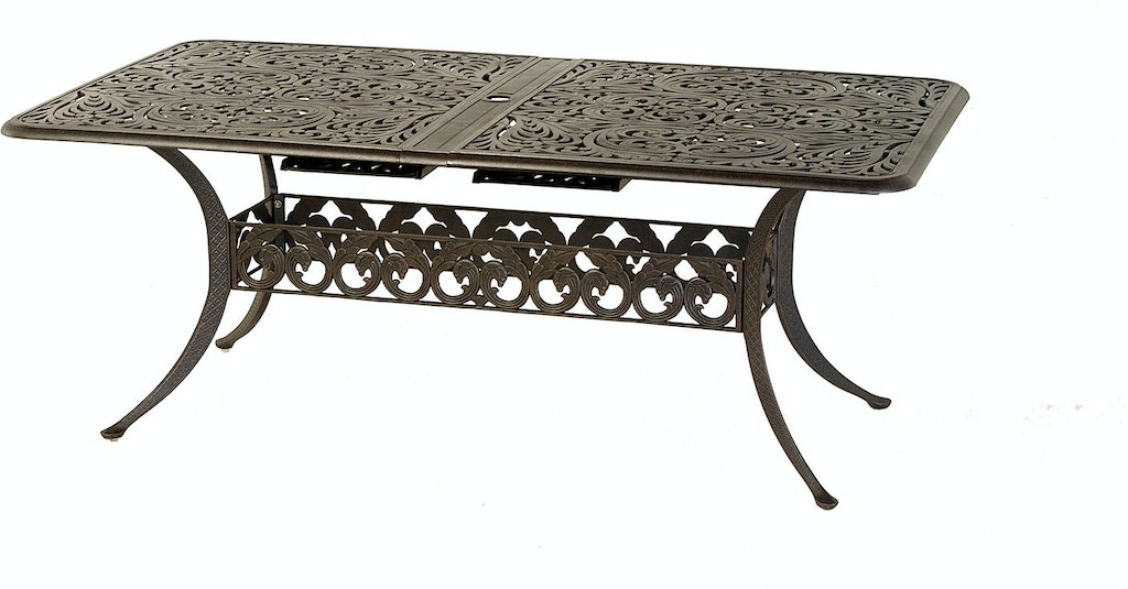 Outdoor Patio 42 X 76 Rectangular Extension Dining Table By Hanamint 020081 Patios Usa Usa
