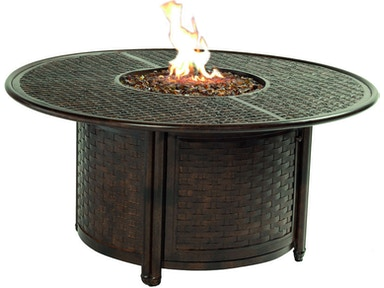 Round Firepit Coffee Table By Castelle