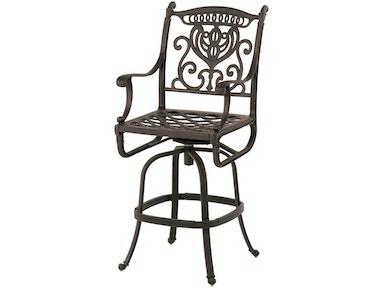 Phenomenal Outdoor Patio Swivel Bar Stool By Hanamint 048250 Bralicious Painted Fabric Chair Ideas Braliciousco