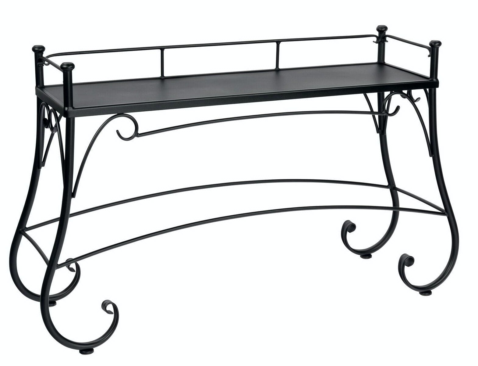 Picture of: Outdoor Patio Console Table By Woodard 190202 Patios Usa Usa Questions Call 888 643 6003