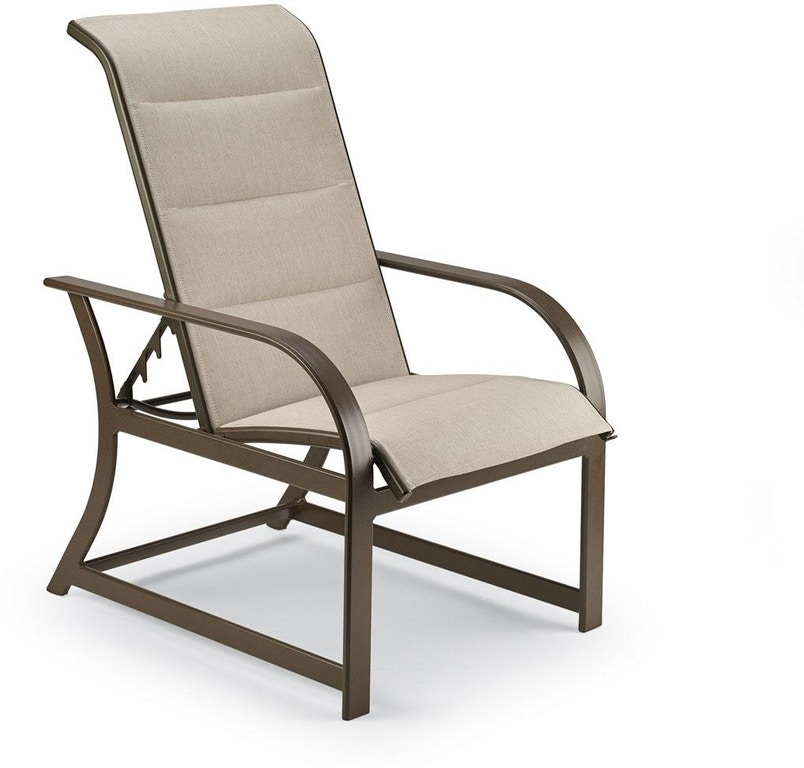 Outstanding Padded Sling Adjustable Lounge Chair By Winston Machost Co Dining Chair Design Ideas Machostcouk