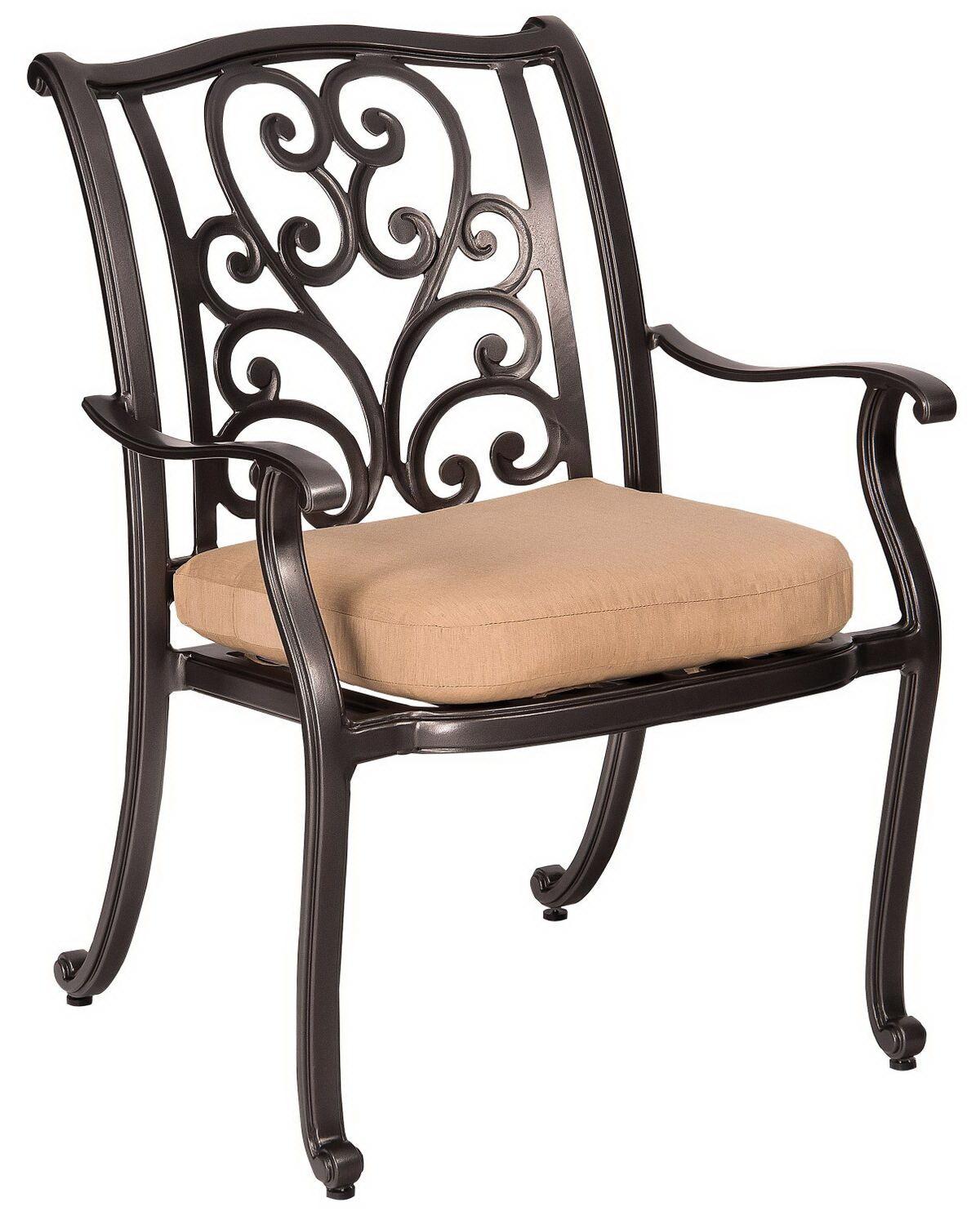 Dining Arm Chair By Woodard 3W0417