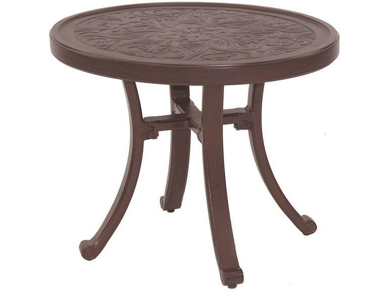 Vintage Tables Round Occasional Table By Castelle Ncp24 Call For Prices 888 643 6003