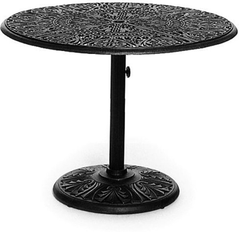 Outdoorpatio 42 Round Pedestal Dining Table By Hanamint