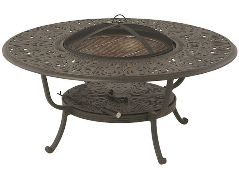 Tuscany 48 Quot Round Wood Fire Pit Table By Hanamint 048012