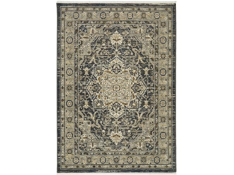 Karastan Floor Erings Titanium Regency Charcoal 3 6 X 5 Rectangle Rug 39400 16002 042066 At Emw Carpets Furniture