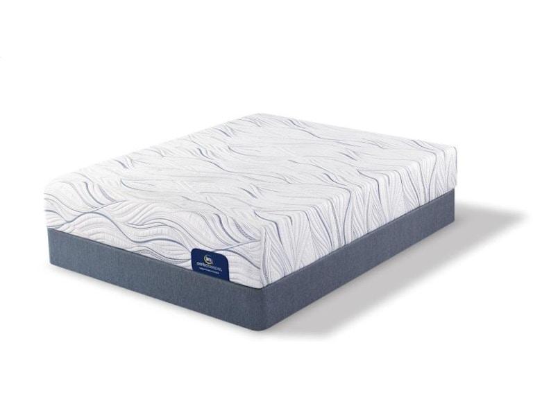 Serta 500082168 Saddlebrook Plush Foam Twin XL Mattress Set on