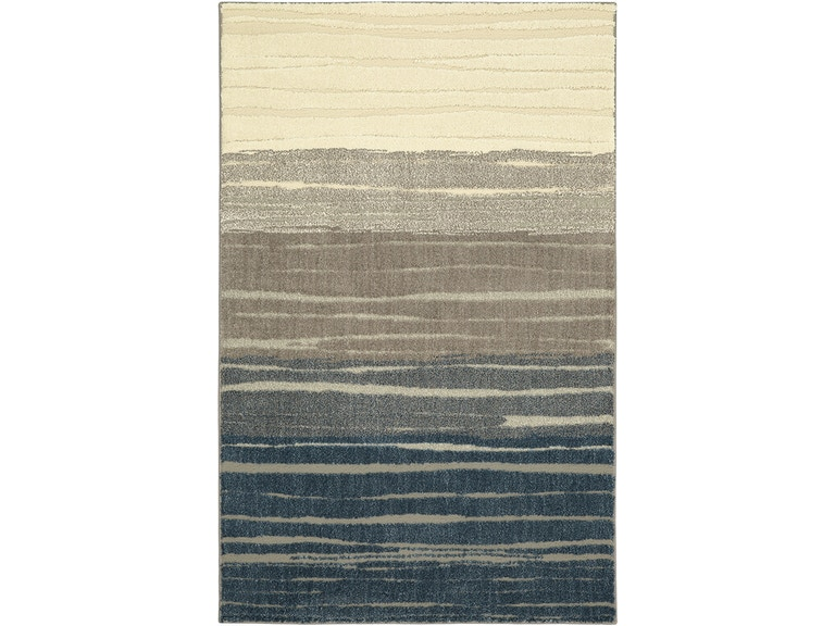Floor Coverings Nomad Pagosa Blue 10 X 14 Rectangle Rug 90869