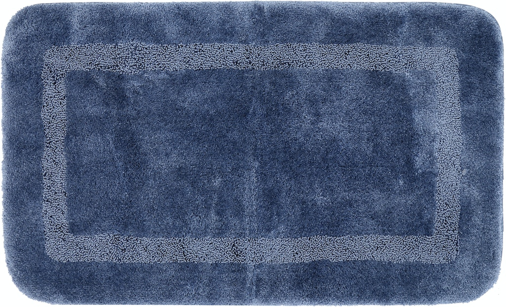 Mohawk Floor Coverings Facet Bath Rug French Blue 2 X 3 4 Rectangle Rug Y3037 542 024040 Hennen
