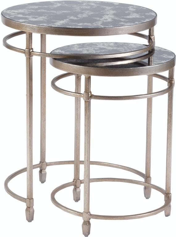 Artistica Home Living Room Colette Round Nesting Tables ...