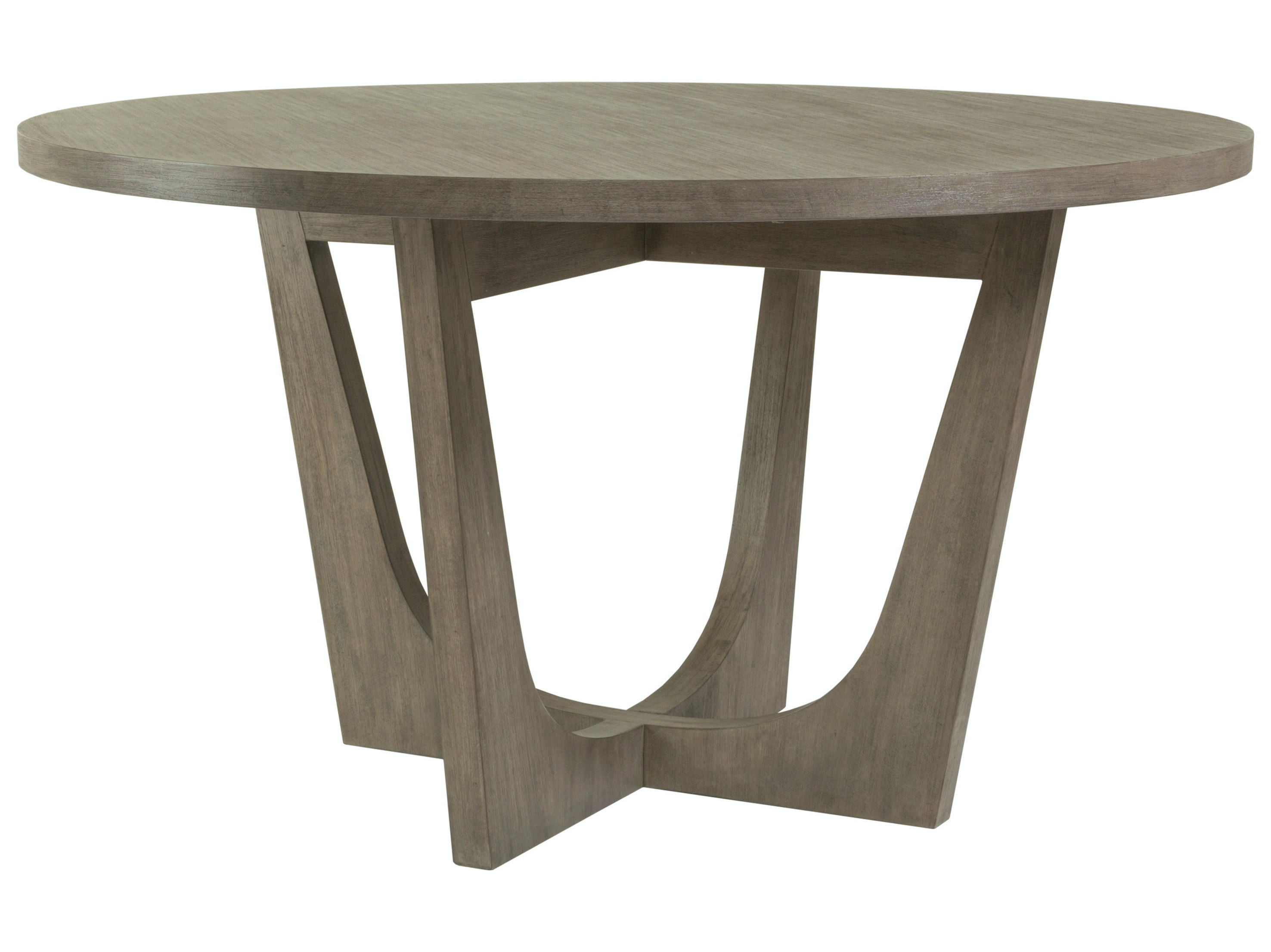 Artistica Home Dining Room Brio Round Dining Table Grigio Finish