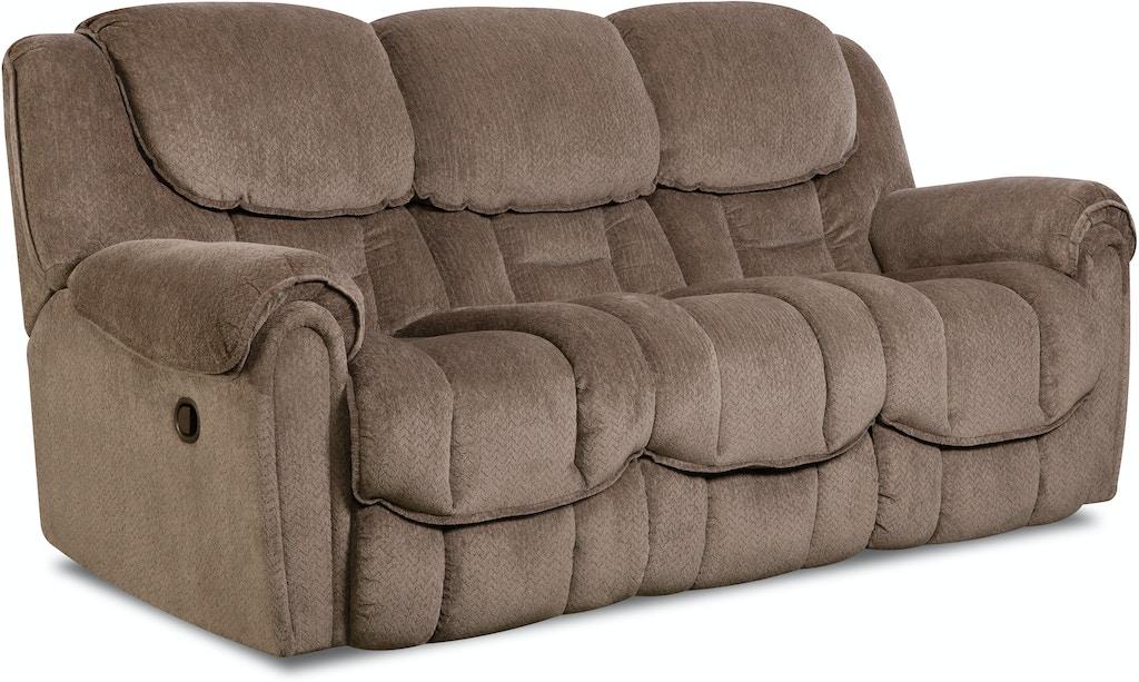 Homestretch Living Room Double Reclining Sofa 122 30 17 B F Myers Furniture Nashville Tn