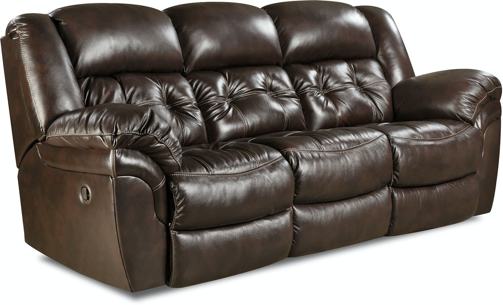 Homestretch Living Room Double Reclining Sofa 155 30 21