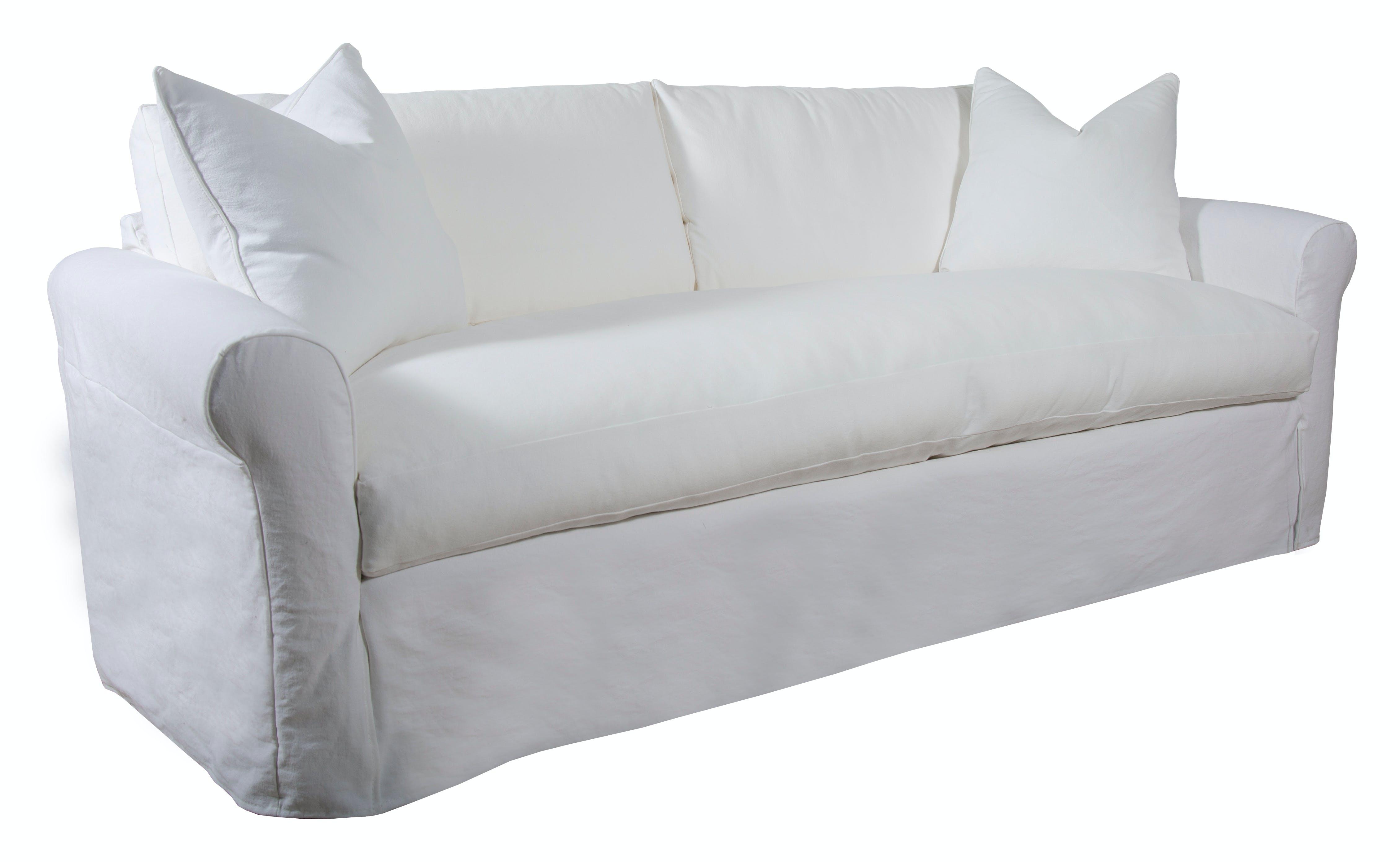 Capris Living Room King Slipcover Sofa Standard Depth K5315 Silk Greenery Home Store St