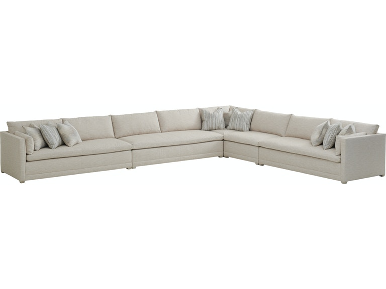 Cool Barclay Butera By Lexington Living Room Colony Sectional Uwap Interior Chair Design Uwaporg