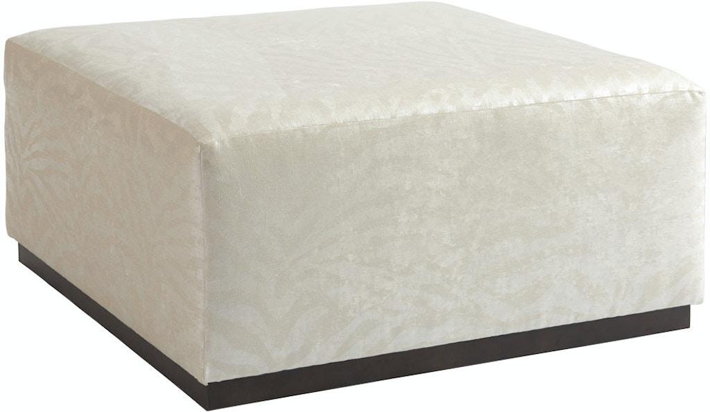 Wondrous Barclay Butera By Lexington Living Room Clayton Ottoman 5455 Bralicious Painted Fabric Chair Ideas Braliciousco