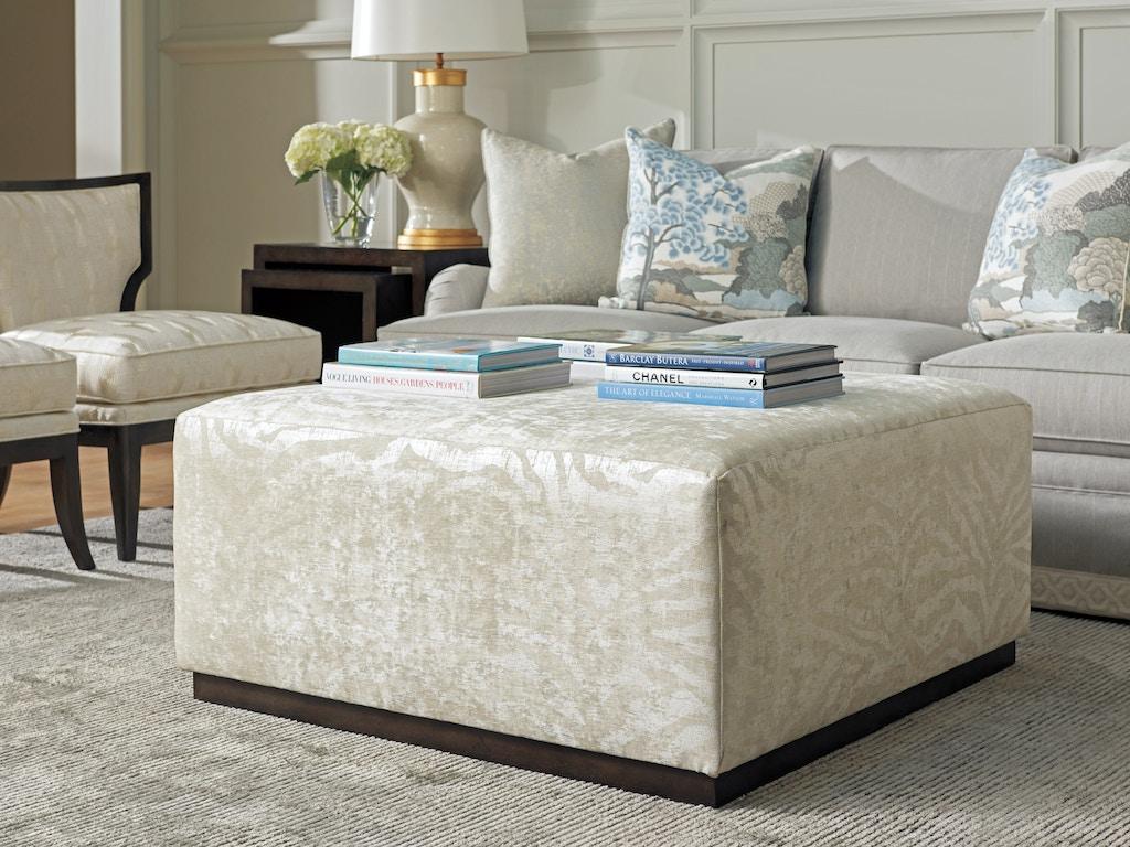 Groovy Barclay Butera By Lexington Living Room Clayton Ottoman 5455 Bralicious Painted Fabric Chair Ideas Braliciousco