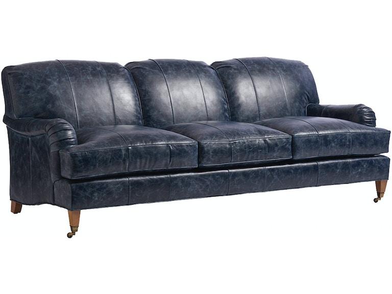 Barclay Butera By Lexington Sydney Leather Sofa Ll5110 33b