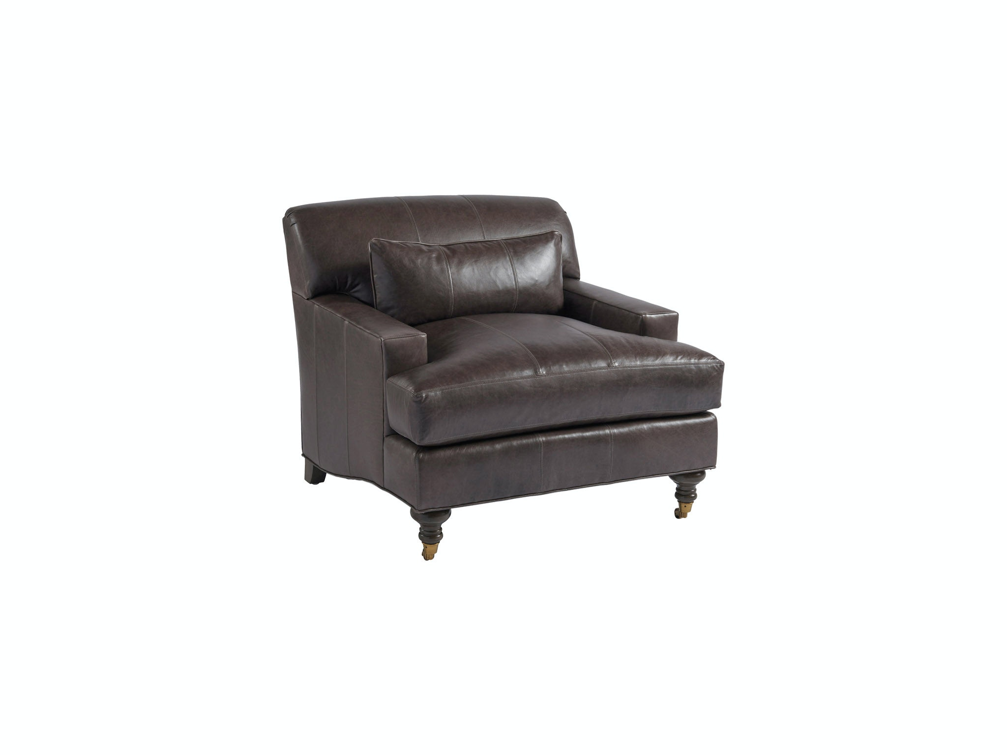 Barclay Butera By Lexington Oxford Leather Chair LL5160 11