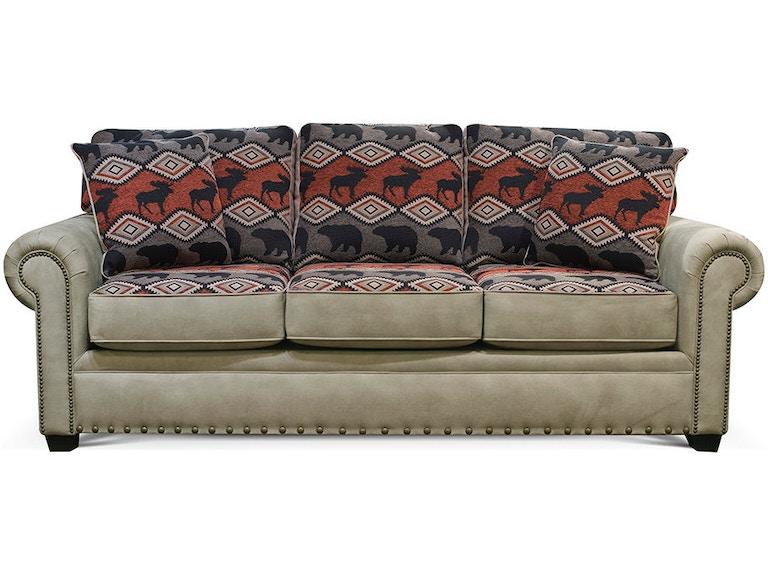 Alexvale Living Room Sofa With Nails V225n Atlantic