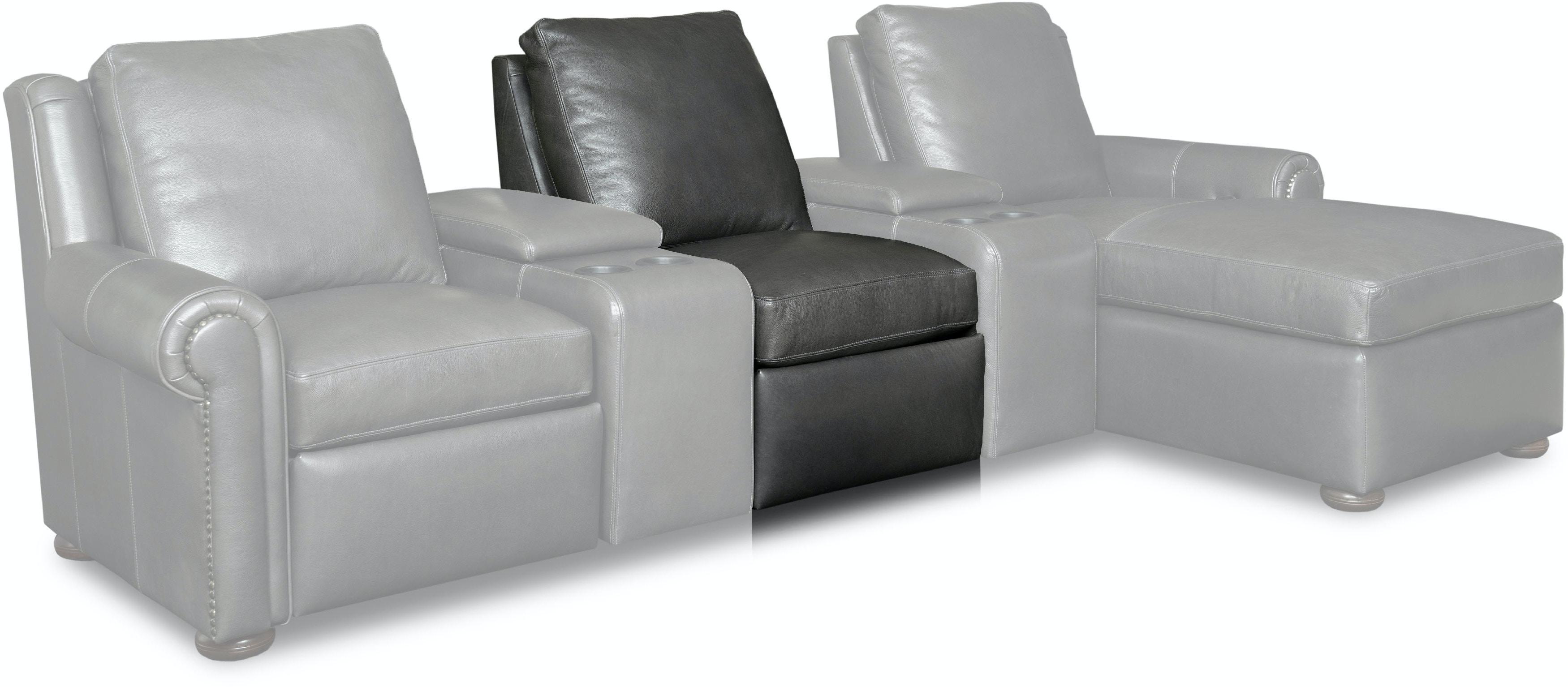 Bradington Young Living Room Whitaker Armless Chair 920 38