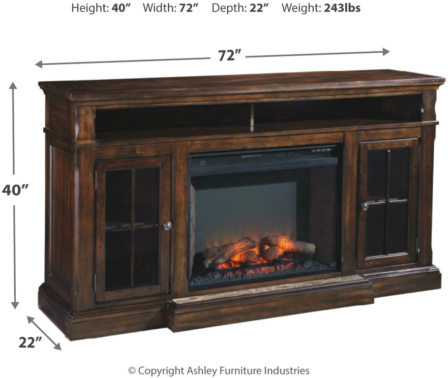 Signature Design By Ashley Home Entertainment Roddinton 74 Tv Stand