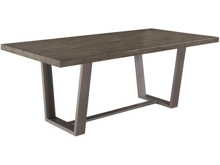 Scott Living Dining Room Table 107851 At Furniture Kingdom