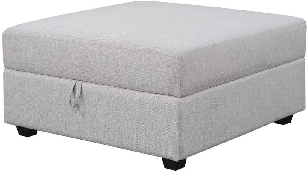 Scott Living Living Room Storage Ottoman 551223