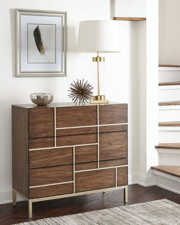 Scott Living Living Room Accent Cabinet 950758 - Evans ...