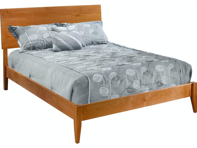 Modern Platform Bed By Archbold Furniture Company