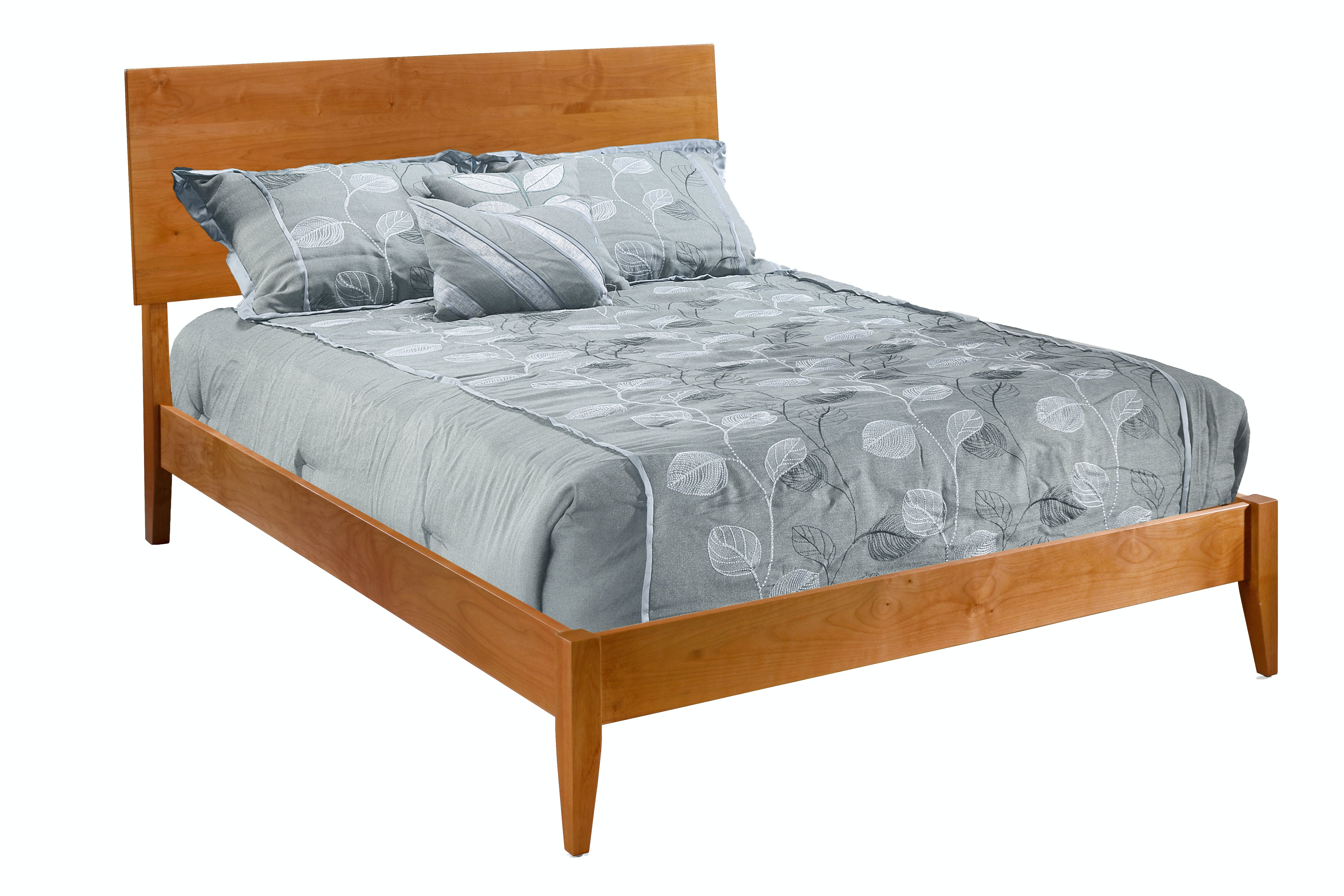 Picture of: Modern Platform Bed By Archbold Furniture Company