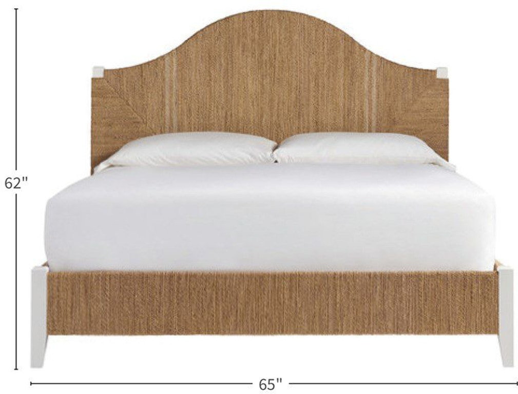 Coastal Living By Universal Seabrook Queen Bed 833210b