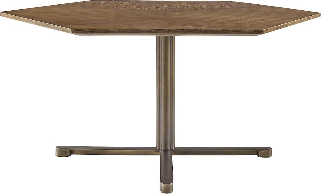 Mcguire Sierra Dining Table 853 Decor