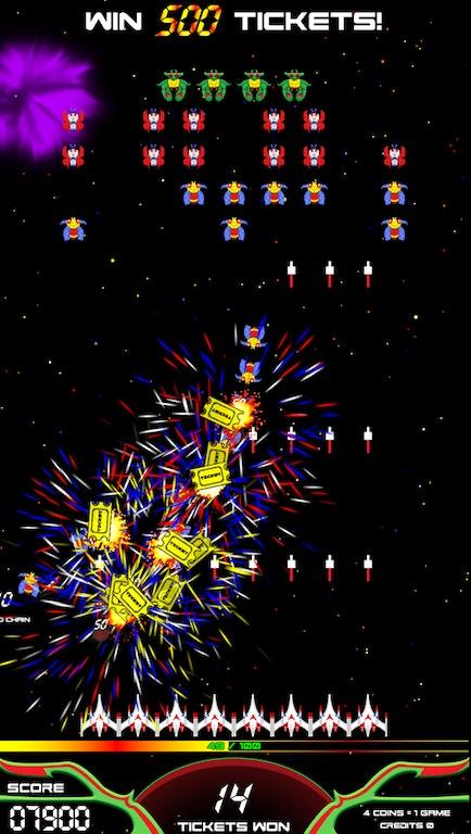 Namco Bar And Game Room Arcade Game Galaga Assault Aminis