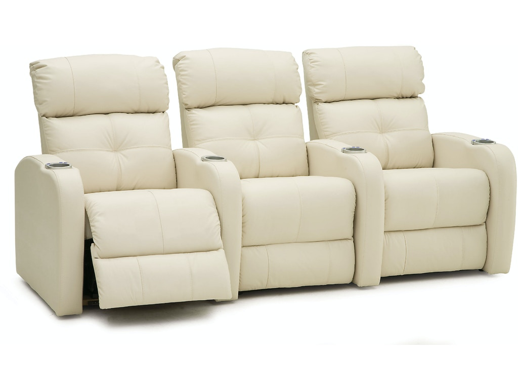 Palliser Furniture Home Entertainment Armless Loveseat Manual Recliner Theatre Seating 41454 4r