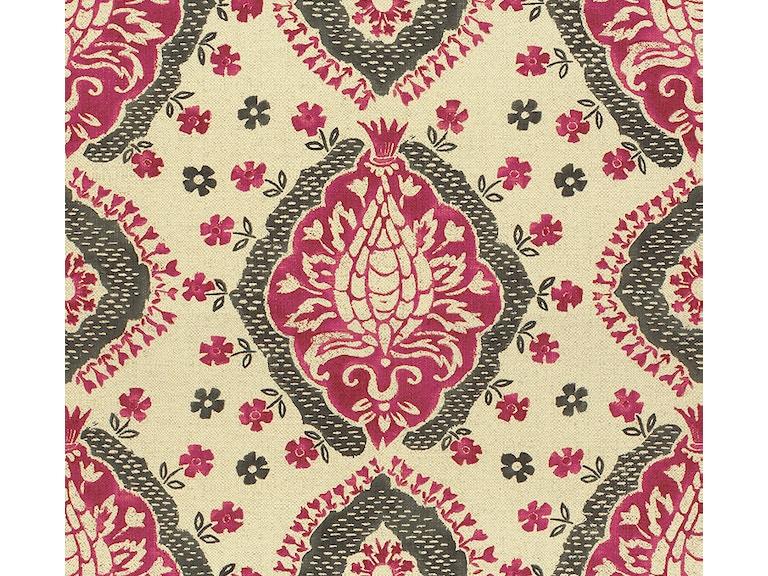 Bassett Printed Floral Lipstick 4238 7 Kalin Home Furnishings