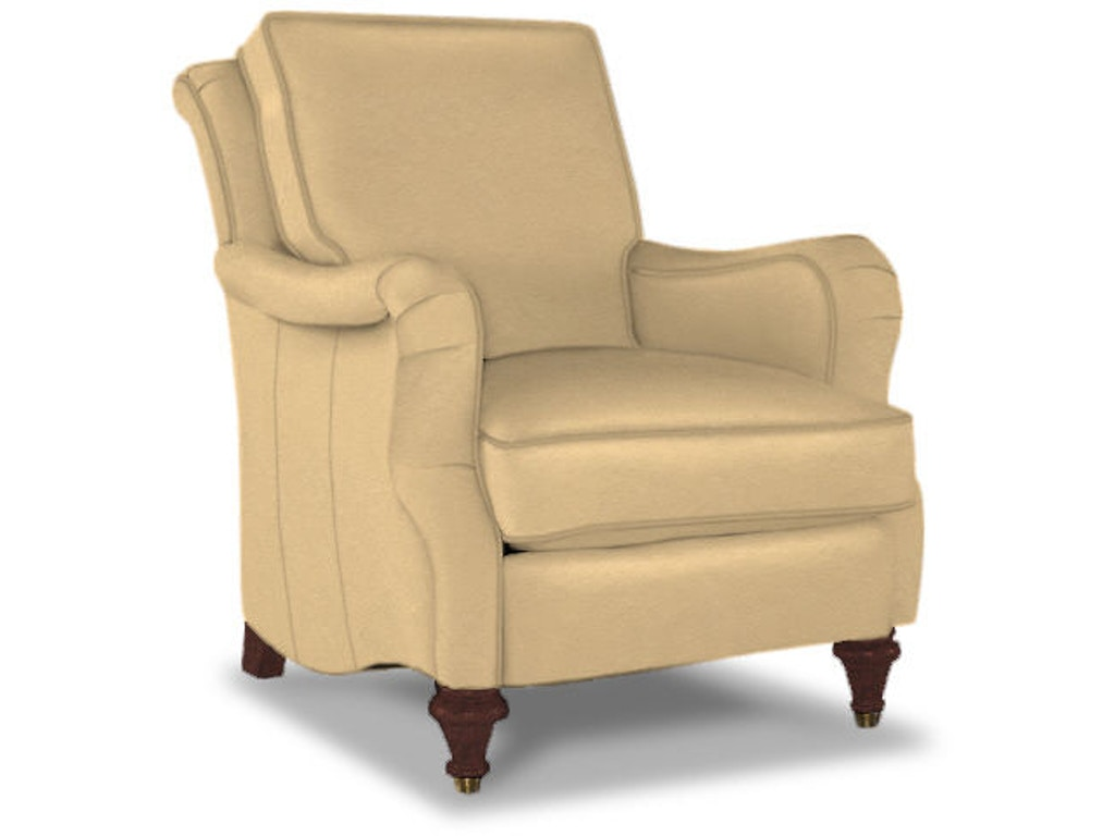 Bassett Living Room Accent Chair 1496 02l Whitley Furniture Galleries Raleigh Nc