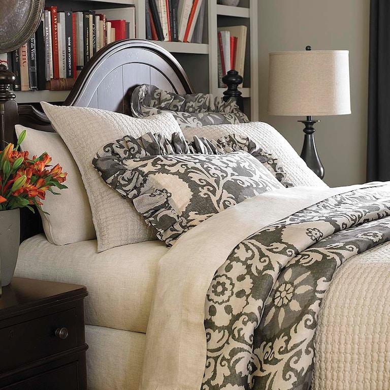 Bassett Bedroom Maibelle Gray Queen Duvet 15317Q