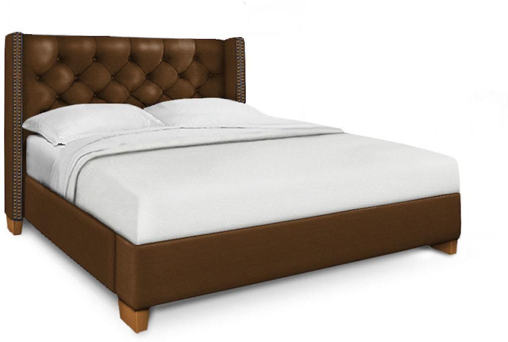 Bassett Bedroom King Straight Wing Bed 2602 K69l