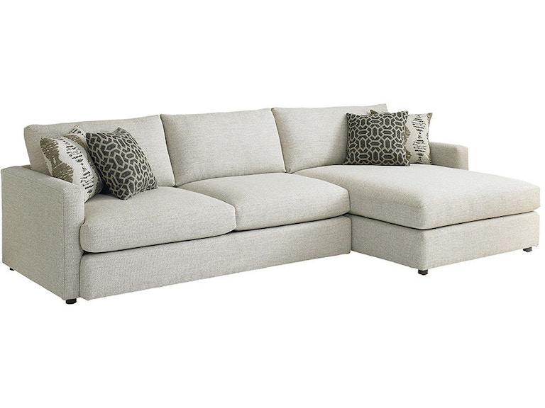 Incredible Bassett Living Room Right Chaise Sectional 2611 Rcsect Creativecarmelina Interior Chair Design Creativecarmelinacom