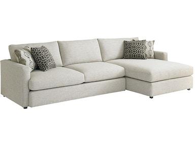 Bassett Allure Left Chaise Sectional 2611 Lcsectfc