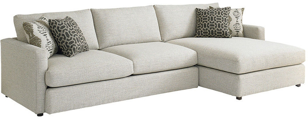 Bassett Living Room Right Chaise Sectional 2611 Rcsectfc