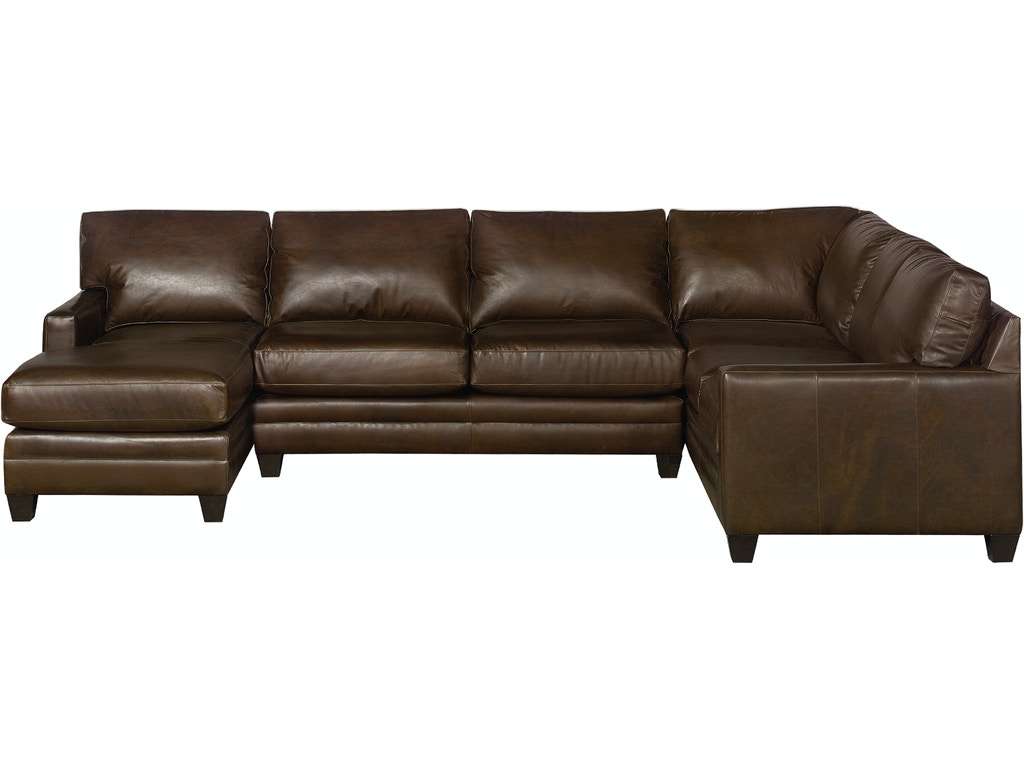 Bassett Living Room U Shaped Sectional 3105 Ulsectl Quality Furniture Murfreesboro Tn