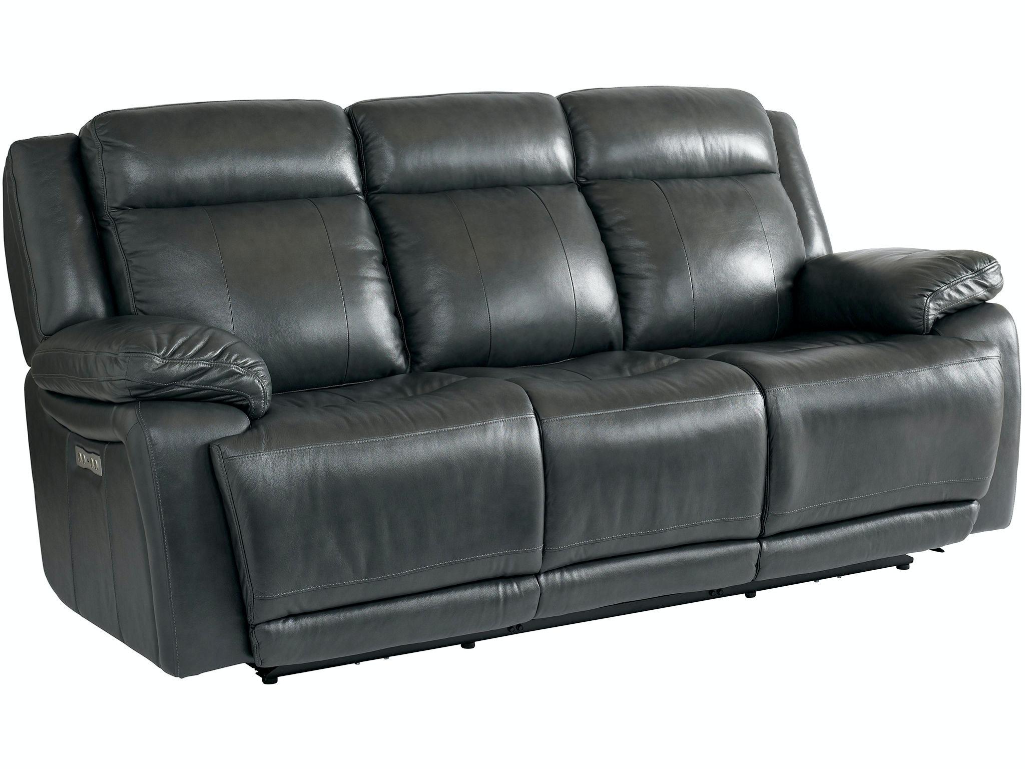 bassett living room sofa w  power 3706 p62g china towne