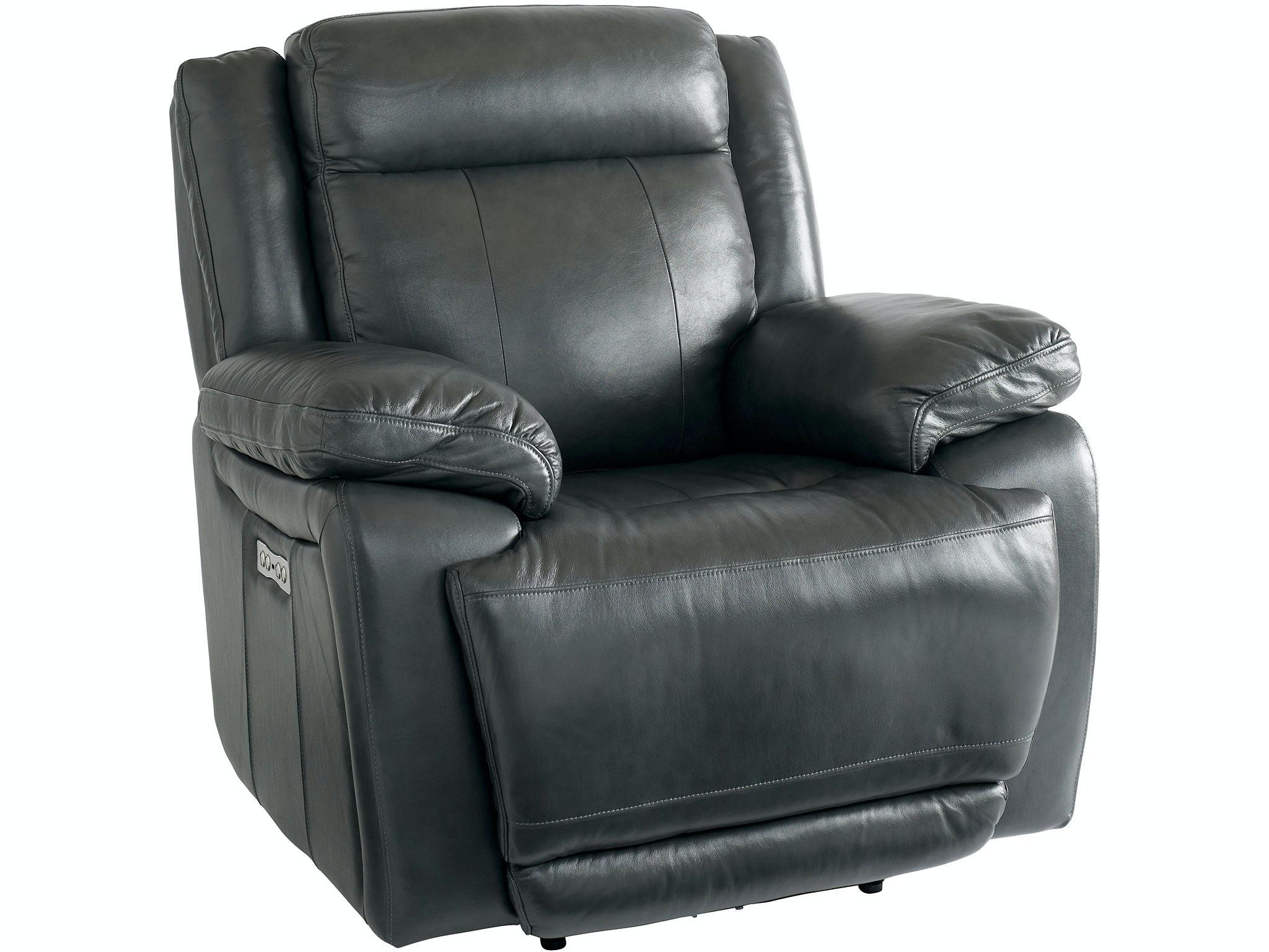 bassett living room wallsaver recliner w  power 3706 p0g