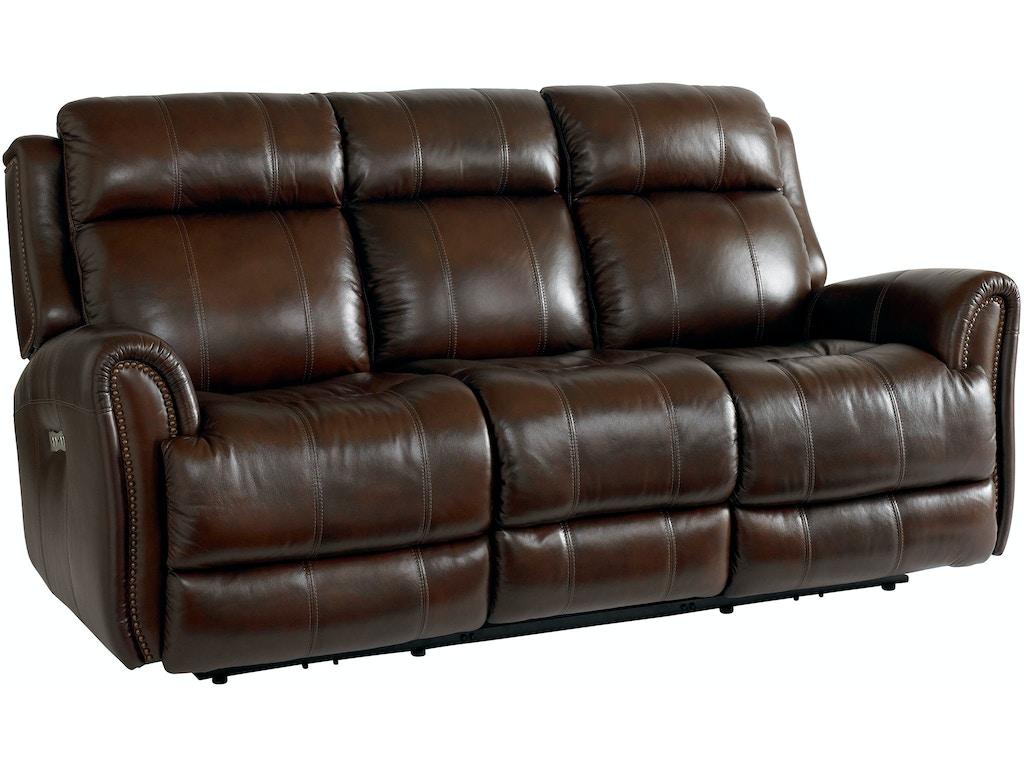 bassett living room sofa w power 3707 p62c lenoir empire furniture johnson city tn. Black Bedroom Furniture Sets. Home Design Ideas