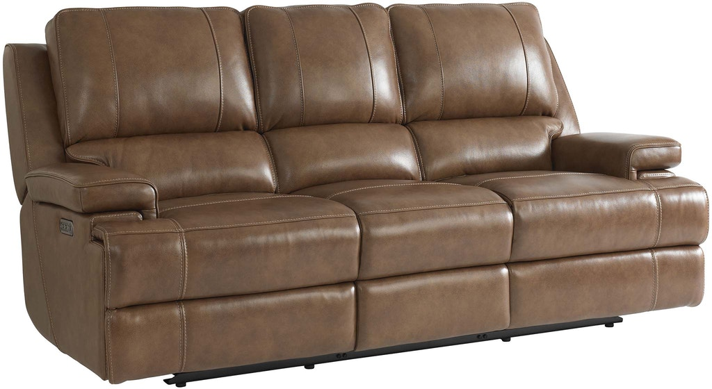 Bassett Parker Sofa W Power 3729 P62u Portland Or Key
