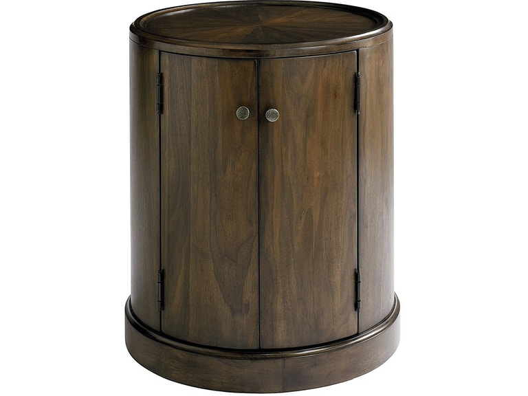 Bassett Living Room Drum Table 6559-0606 - Room to Room ...